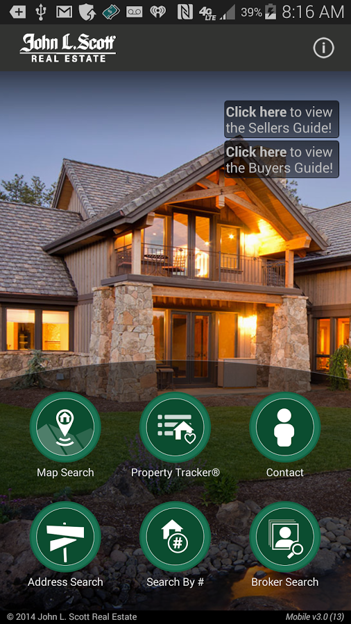 Rosie Rourke John L. Scott GPS Home Search App