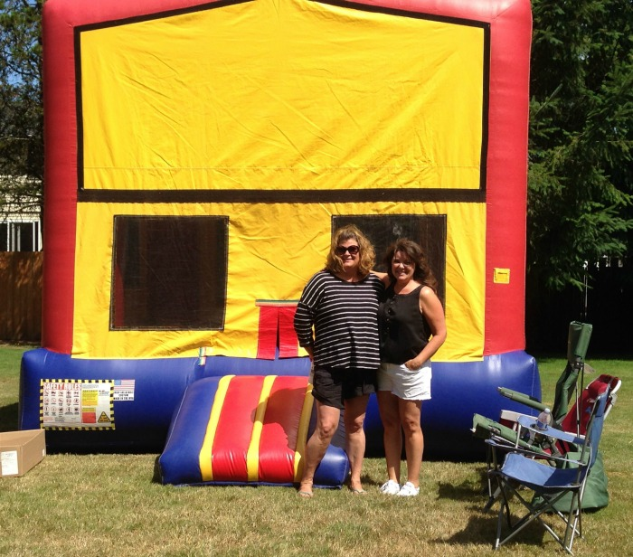 Bouncy House at Recycle Event