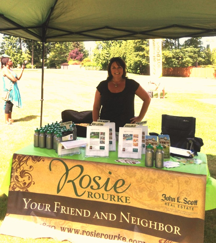 Rosie at Recycle Event